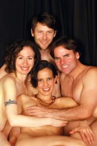 Valentines sexy family