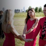Kamala Devi does handfasting ceremony for polyamory Triad on Showtime