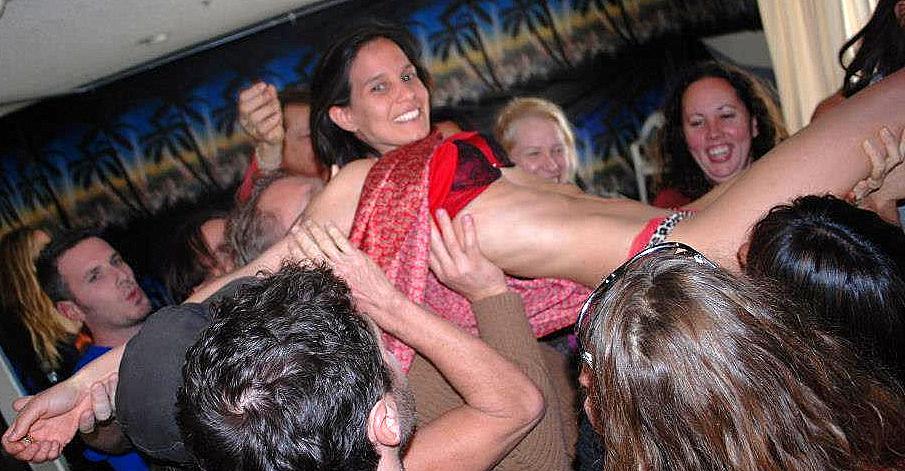 Kamala devi Crowd Surfing at Tantra Palooza