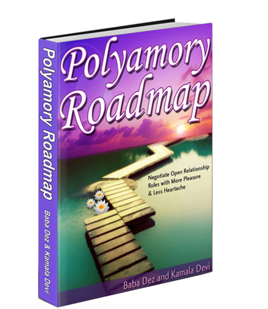 Polyamory Roadmap ebook kamala devi Cover_big