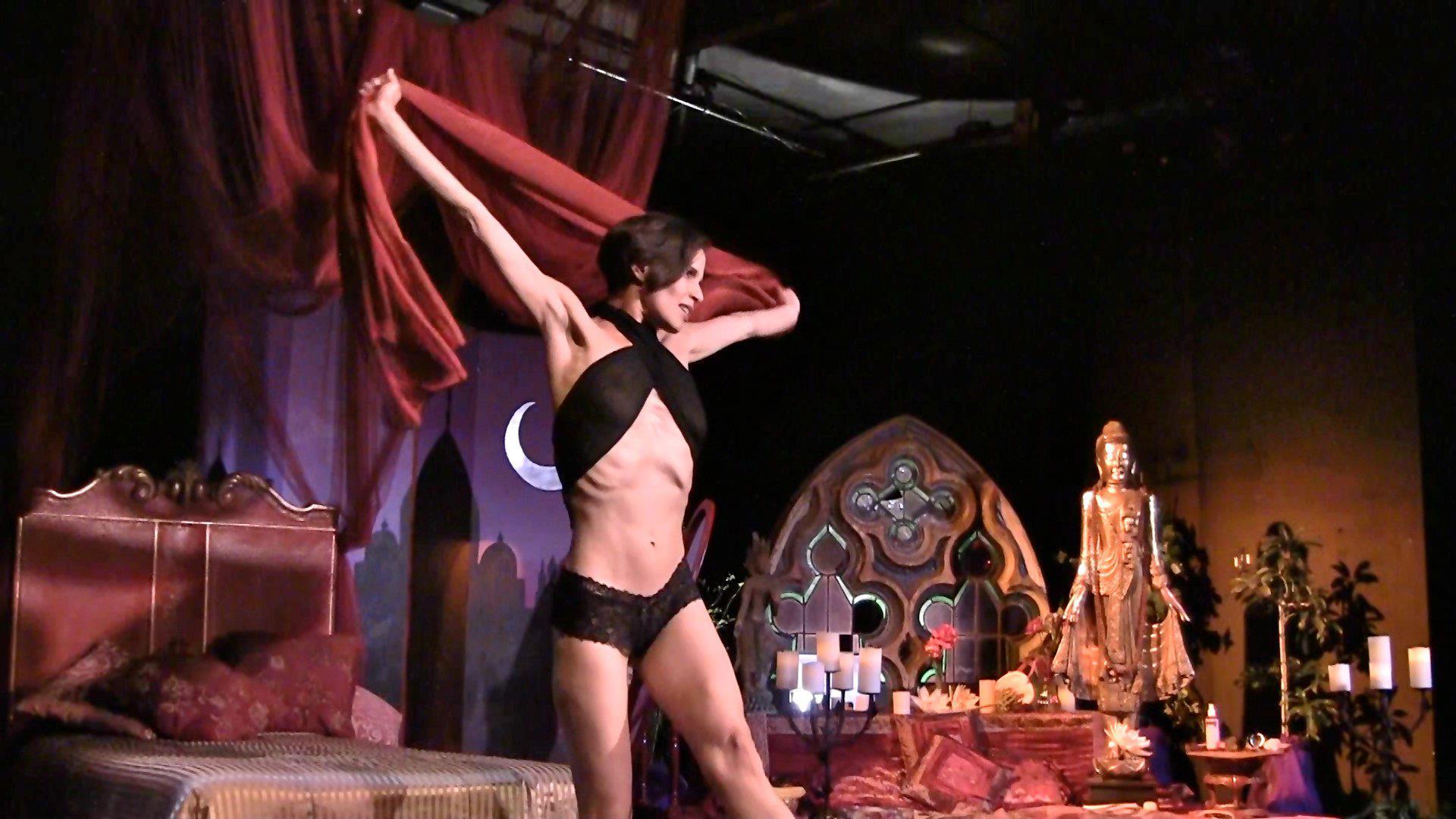 Kamala Devi's one woman show: sacred slut