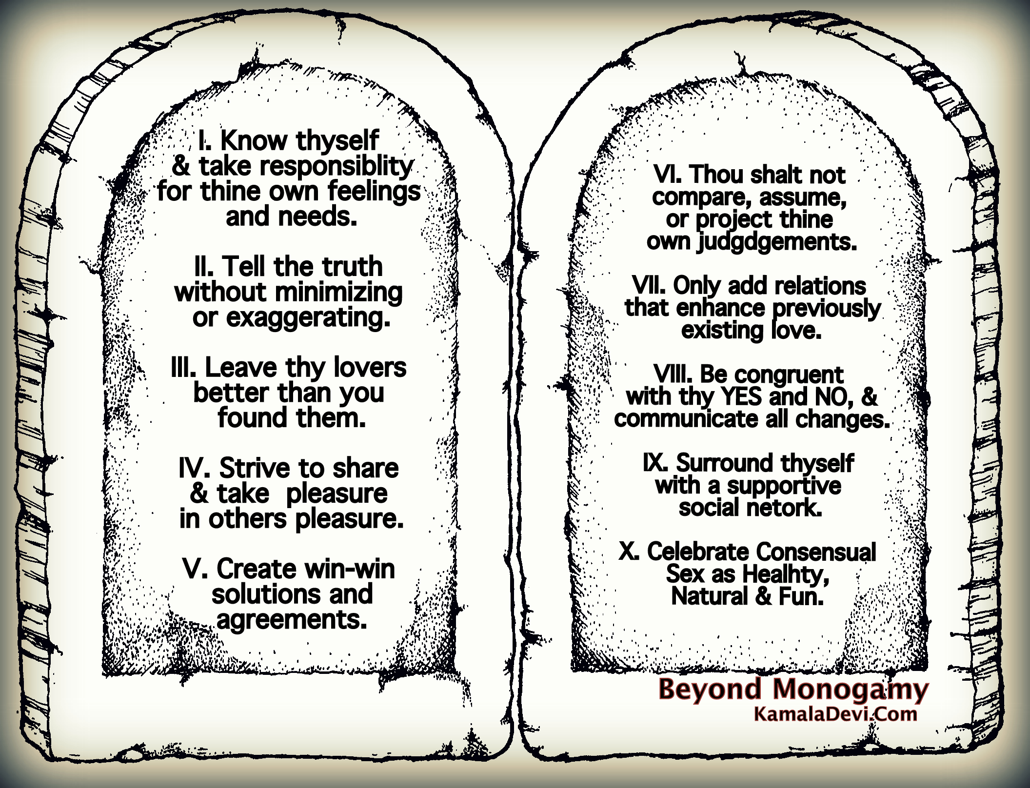10 Polyamory Rules, Commandments, or Best Practices: Beyond Monogamy