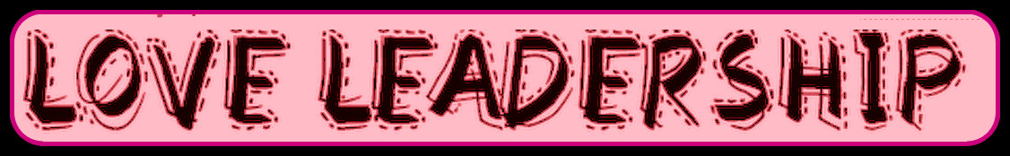 love leader logo red