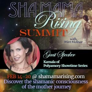 KamalaDevi Promo Graphic motherhood shamanism
